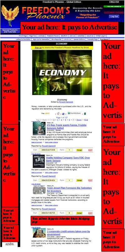 Freedoms Phoenix Advertising placement more traffic sales Freedom Community